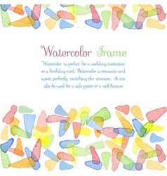 Watercolor banners vector