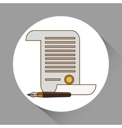 Law and justice icon design vector