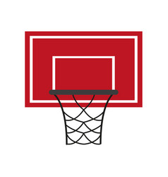 basketball icon image vector image vector image