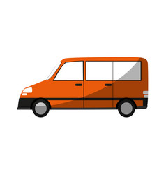 Car sideview cartoon icon image vector