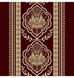 Damask seamless pattern vector