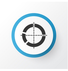 Target icon symbol premium quality isolated vector