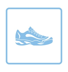 Tennis sneaker icon vector