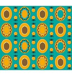 Yellow background 2 vector image