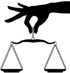 balance vector image