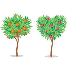 Tree love vector