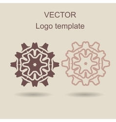 Abstract logo design template vector image vector image