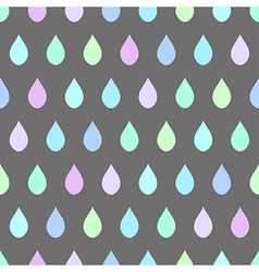 Cool rain light gray background vector