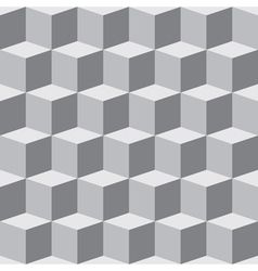 Cube pattern vector