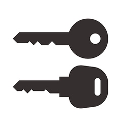 Key and car key symbols vector