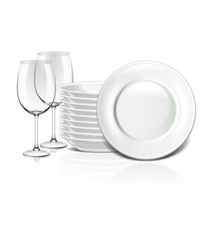 Object crockery vector