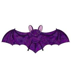 Hand drawing bat vector image