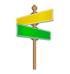 Street sign vector