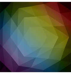 Abstract 3d geometric background Abs 14 vector image