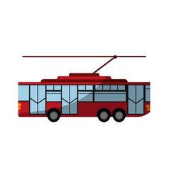 Bus icon image vector