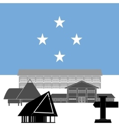 Federated states of micronesia vector