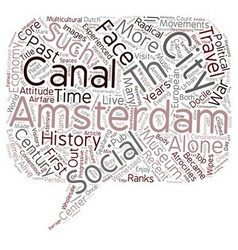 From wetlands to canals and dams amsterdam is vector
