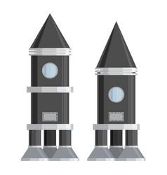 Spaceship set vector
