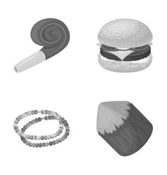 Sport decoration and other monochrome icon in vector