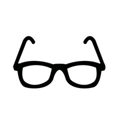 Eyeglasses accessory fashion object element vector