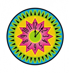 color watch vector image