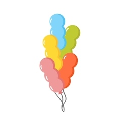 Balloons set vector image vector image