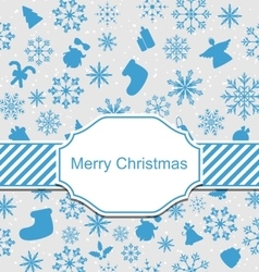 Christmas Greeting Invitation vector image