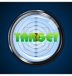 target board vector image vector image