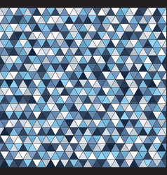 triangle pattern seamless vector image vector image