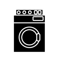 washer machine appliance vector image