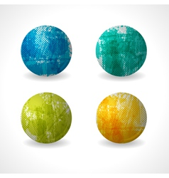 Grunge circle design vector