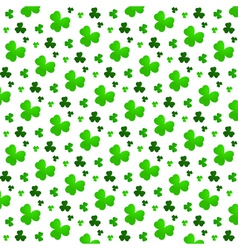 Green Clover Background vector image