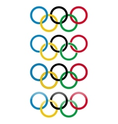 Olympic games icons vector