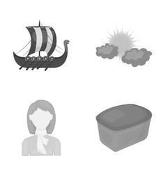 History travel hairdresser and other web icon in vector