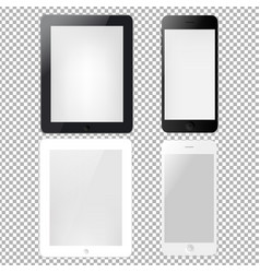 Tablets and phone vector