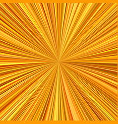 Orange explosion background from radial stripes vector