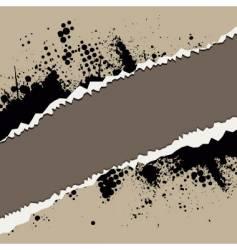 grunge rip design vector image