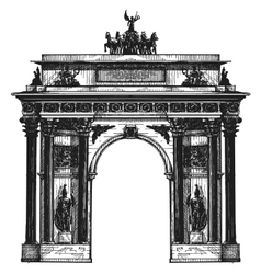 Germany logo design template Berlin or vector image
