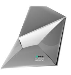 Email internet background vector image
