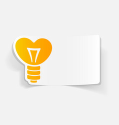 Realistic design element lamp vector