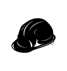 Safety constructions helmet hard hat isolated on vector image