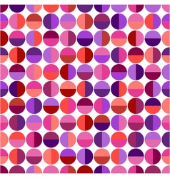seamless pattern with colorful geometric shapes vector image