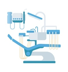 Dental chair clinic vector