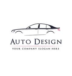 abstract car design concept automotive topics vector image