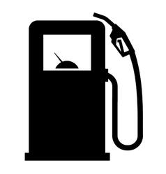 gasoline filling station logo design vector image vector image