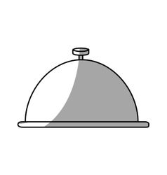 Isolated cloche design vector
