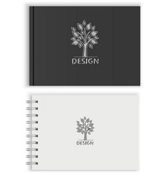 Sketchbook vector image