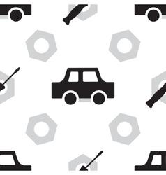 Auto service or car repair seamless pattern vector