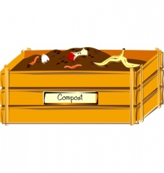 compost vector image