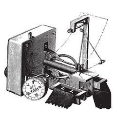Dudgeons sphygmograph vintage vector
